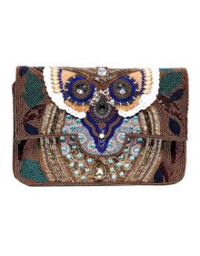 Clutch Dinah Cobre - Carolina Cury