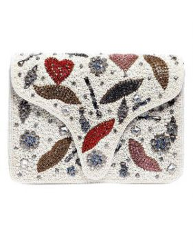 Clutch Lolly Off White - Carolina Cury