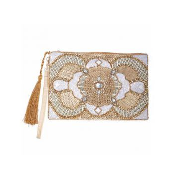 Clutch Sylvia Nude - Carolina Cury
