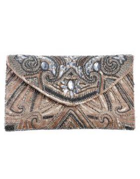 Clutch Miranda Nude - Carolina Cury