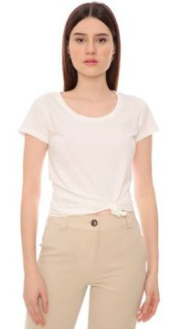 T-shirt Cecília Off White - Amissima