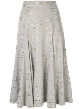 Marble Knit Skirt - Bambah