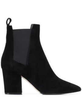 Chunky Heel Ankle Boots - Sergio Rossi