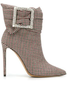 Houndstooth Ankle Boots - Alexandre Vauthier