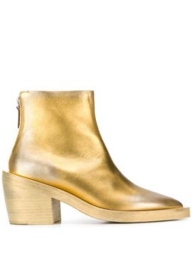 Gilded Ankle Boots - Marsèll