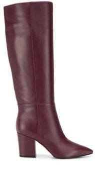 Knee-length Pointed Toe Boots - Sergio Rossi
