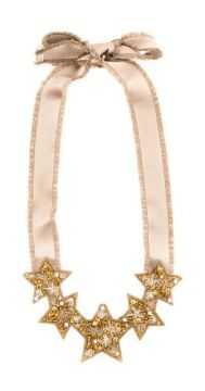 Red(v) Beaded Star Necklace - Red Valentino