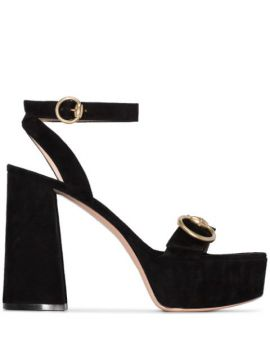 Buckled Strap Chunky Sandals - Gianvito Rossi
