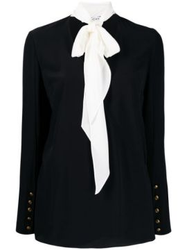 Pussy Bow Detail Blouse - Givenchy
