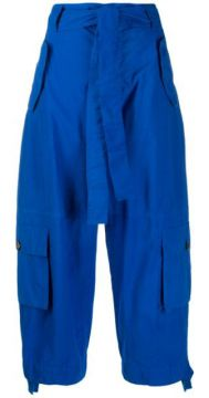 Cropped Tie Waist Trousers - Colville