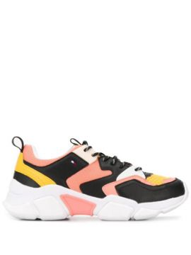 Colour Blocked Chunky Sneakers - Tommy Hilfiger