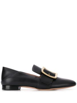 Front Buckle Loafers - Bally