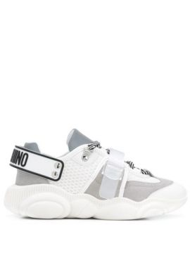 Logo-strap Chunky Sneakers - Moschino