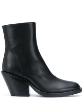 Tapered Heel Ankle Boots - Ann Demeulemeester