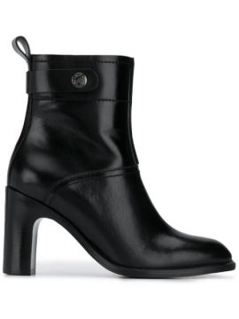 Chunky Heel Ankle Boots - See By Chloé