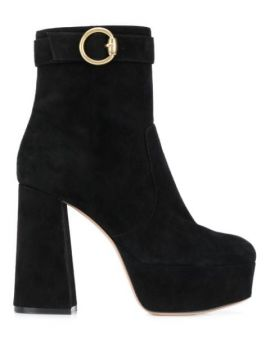 Buckled Chunky-heel Ankle Boots - Gianvito Rossi