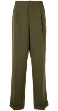 Pleated Waist Tailored Trousers - Ports V