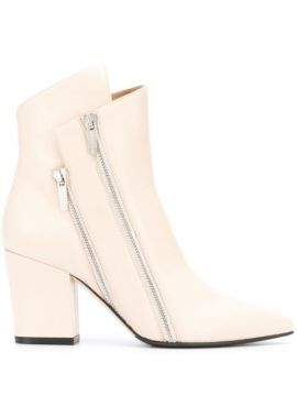 Double Zip Ankle Boots - Sergio Rossi