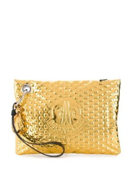 Logo Embossed Clutch - Moncler