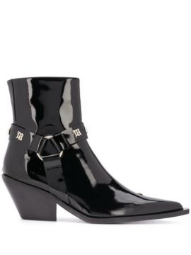 Studded Point Toe Ankle Boots - Misbhv