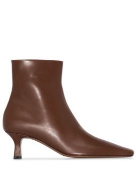 Brown Diadem 55 Leather Ankle Boots - Neous