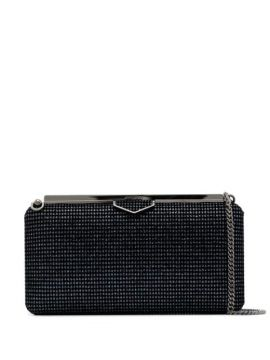 Clutch Ellipse Com Brilho - Jimmy Choo