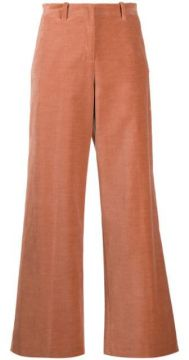 Velvet Flared Trousers - Alysi