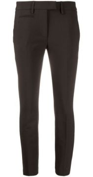 Tailored Cropped Trousers - Dondup