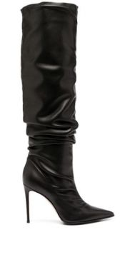 Pointed Ruched Boots - Le Silla