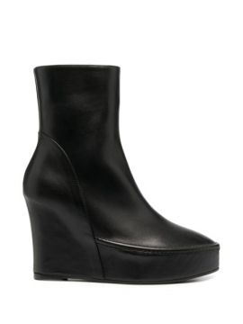 Wedge Heel Ankle Boots - Ann Demeulemeester