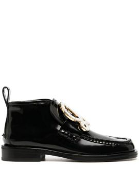 Pearl Logo Ankle Boots - Loewe
