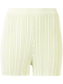 Rib-knit Fitted Short - Dion Lee