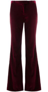 Flared Velvet Trousers - Redemption