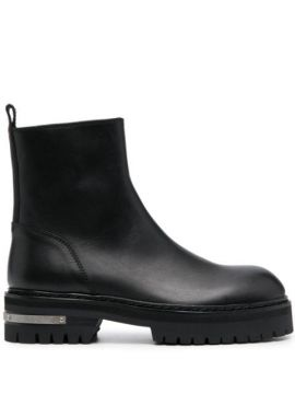 Ankle Boot De Couro - Ann Demeulemeester