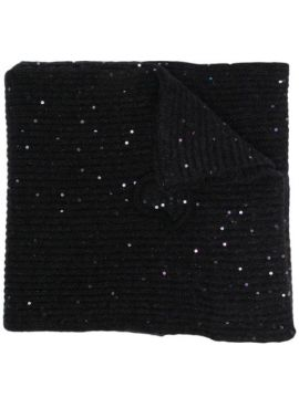 Sequin Knitted Scarf - Moncler