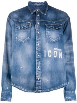 Camisa Jeans Icon - Dsquared2