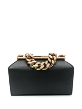 Clutch Pequena Com Alça De Corrente - Stella Mccartney