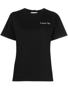 Embroidered-logo Cotton T-shirt - Helmut Lang