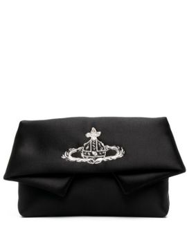 Orb Embroidery Clutch - Vivienne Westwood