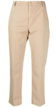 Cropped Chino Trousers - Dondup