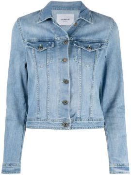 Jaqueta Jeans Cropped - Dondup
