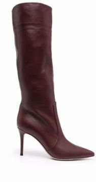 Pointed Knee-high Boots - Gianvito Rossi