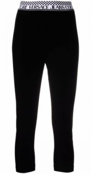 Logo-waistband Leggings - Versace Jeans Couture