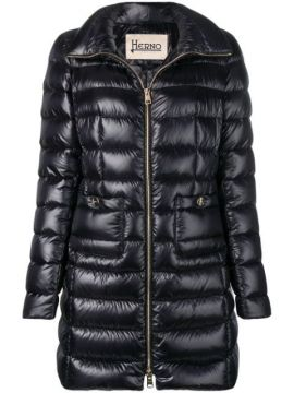 Mid-length Puffer Jacket - Herno