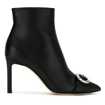 Ankle boot Hanover de couro Jimmy Choo