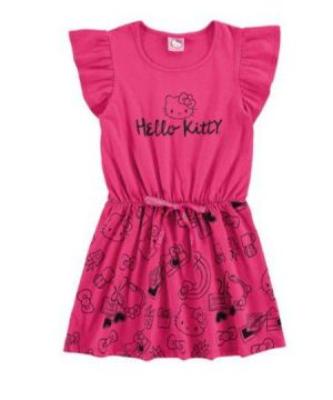 Vestido Hello Kitty - Rosa - Marlan