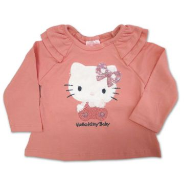 Camiseta Baby Hello Kitty - Eca Meleca