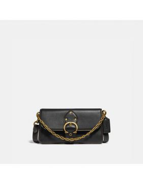 Bolsa Beat Crossbody Clutch Coach - Preto