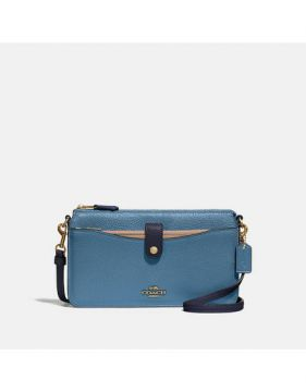 Bolsa Noa Pop Up Messenger Coach - Azul