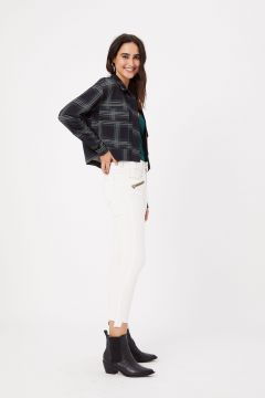 Calca Jeans Cropped Flare - Fyi